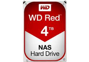 99€ | Western Digital | WD Red 4 TB / WD40EFRX | HDD / Festplatte | Masterpass Deal