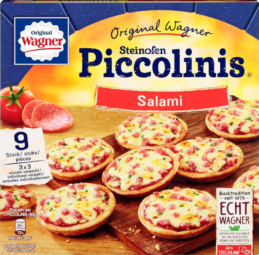 ORIGINAL WAGNER Piccolinis  aus dem Steinofen, versch. Sorten für 1,39€ bei kaufland bundesweit