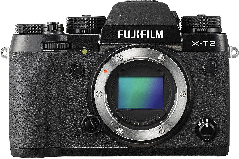FUJIFILM X-T2 Systemkamera Schwarz - Bestpreis