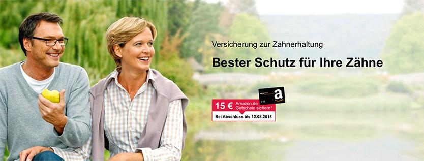 [Shoop] 75€ Cashback + 15€ Amazon Gutschein für Abschluss einer Versicherung zum Zahnerhalt von ERGODirekt