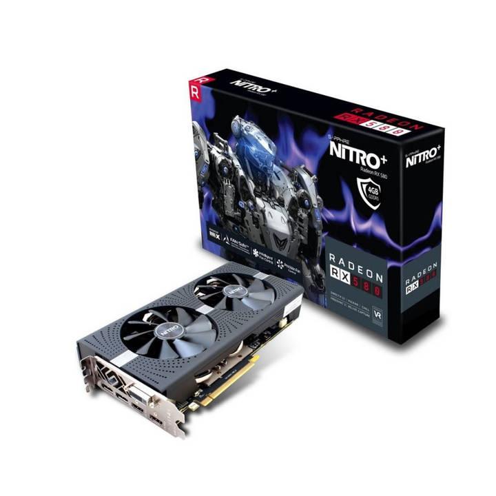 (Microspot Schweiz) Sapphire Radeon RX 580 NITRO+ 4GB für 103,46€, ASUS ROG STRIX GTX1070TI 8GB für 292,12€, ASUS GeForce GTX 1080 Ti Turbo (11GB) für 460,72€