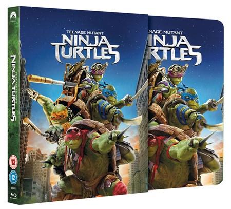 Teenage Mutant Ninja Turtles - Steelbook (Blu-ray) für 5,50€ (Zoom.co.uk)