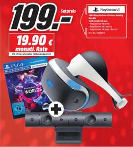 [Regional Mediamarkt Paderborn] Sony PlayStation VR PlayStation Kamera + PlayStation VR Worlds für 199,-€