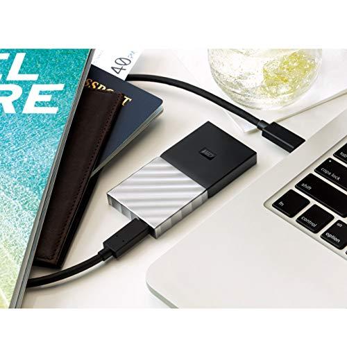 [amazon] Western Digital WD My Passport SSD 512GB, USB-C 3.1 (M.2 2280, WDBKVX5120PSL, 8,9x4,6x1cm, 3 Jahre Herstellergarantie)