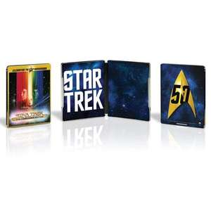 Star Trek: The Motion Picture: (50th Anniversary Limited Edition Steenbok) Bluray