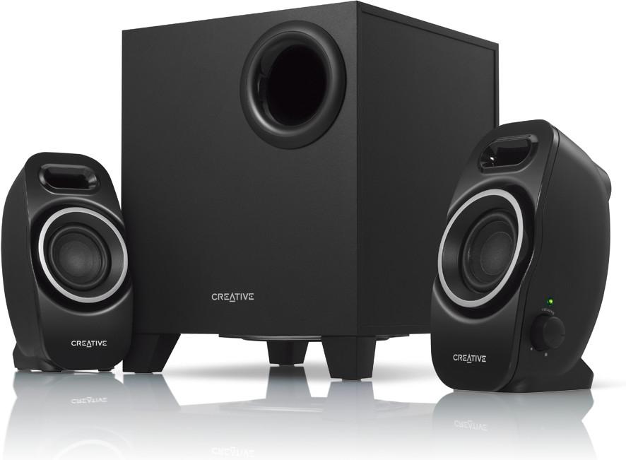 Creative Inspire A250 2.1 PC-Soundsystem Lautsprecher