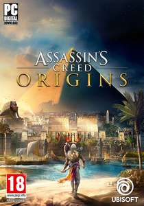 Assassin´s Creed Origins Standard Edition für 23,99 €, Assassin´s Creed Origns Deluxe Edition für 28,99 € und Assassin´s Creed Origins Gold Edition 36,99 € (PC / UPLAY) - [Gamesplanet]