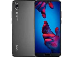 Huawei P20 128GB 4GB RAM Single Sim Black - Demoware