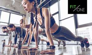 FIT/ONE-Mitgliedschaften bei Groupon: 3 Monate 39€, 12 Monate 288€