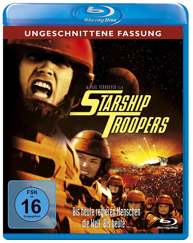 Starship Troopers - Ungeschnittene Fassung (Blu-ray) für 9,97€ (Amazon Prime)