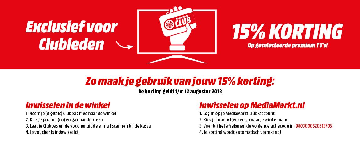 Grenzgänger NL - 15% Rabatt auf viele QLED und OLED TVs als MM Clubmitglied