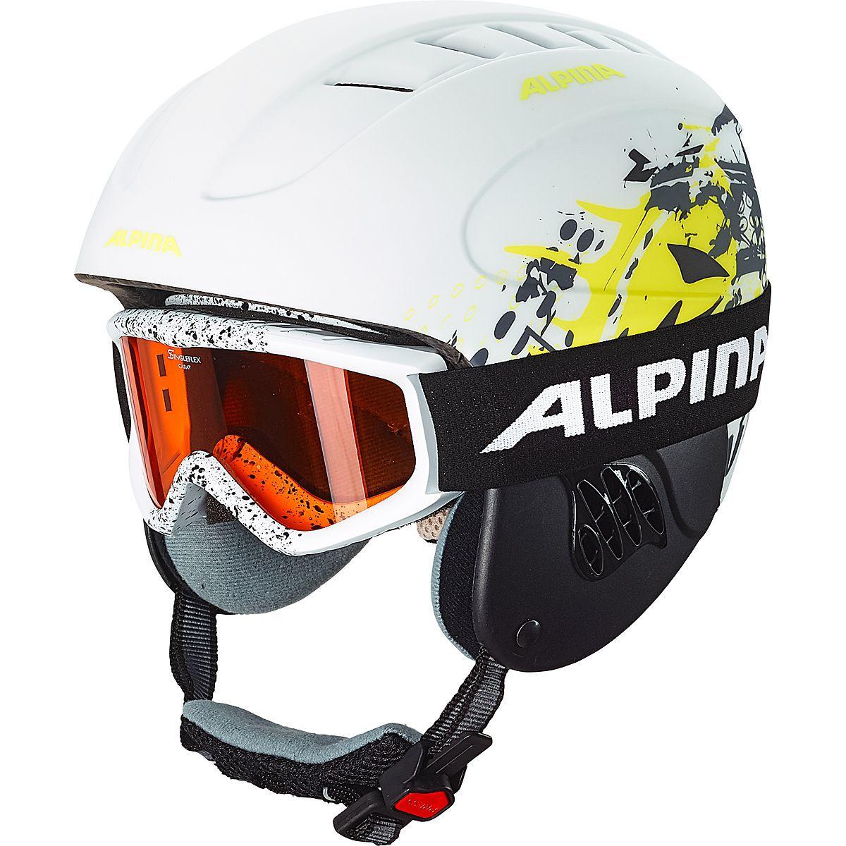 "Alpina™ - Kinder Skihelm ""Carat LE"" (Weiß,Größe 48-52cm) ab €14,37 [@Karstadt.de]"