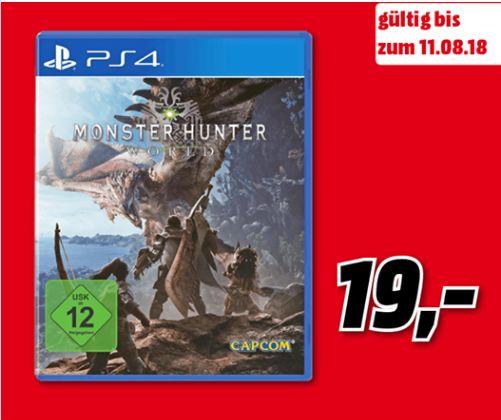[Regional Mediamarkt Buxtehude] Monster Hunter World (Playstation 4) für 19,-€