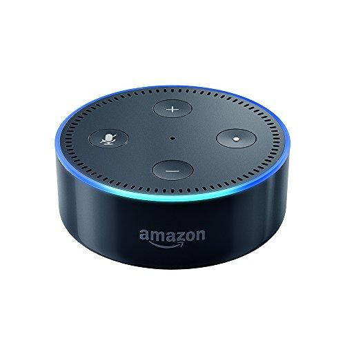 Amazon Echo Dot zweite Gen., zertifiziert und generalüberholt, schwarz oder weiß [Amazon]