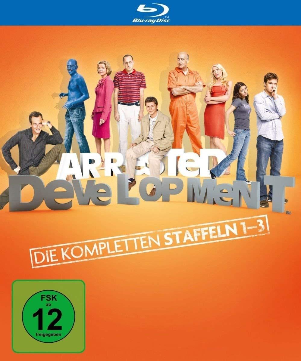 Arrested Development - Die kompletten Staffeln 1-3 (Blu-ray) für 14,97€ (Amazon Prime)