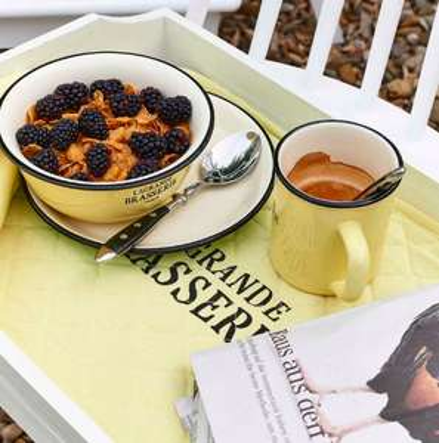"""Summer-Sale bei Butlers mit kostenloser Filiallieferung, z.B. Tasse aus Geschirrserie """"La Grande Brasserie"""""""