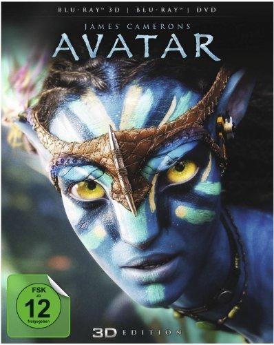 Avatar - Aufbruch nach Pandora 3D (3D Blu-ray + Blu-ray + DVD) für 12,72€ (Amazon Prime)