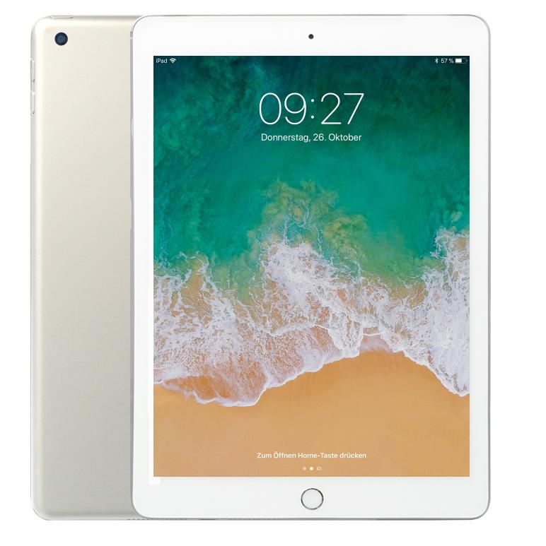 Apple iPad 2018 128GB WiFi Silber mit Masterpass [NBB]