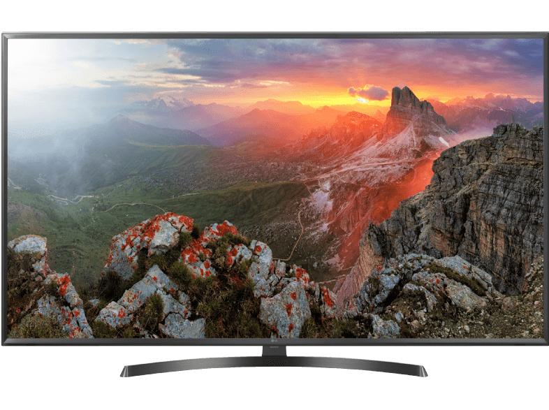 "LG 50UK6470PLC - 50"" 4K UHD Smart TV (3840x2160, Active HDR10, HLG, 8bit+FRC, 60 Hz, Triple Tuner mit DVB-T2, webOS 4.0) [Media Markt]"