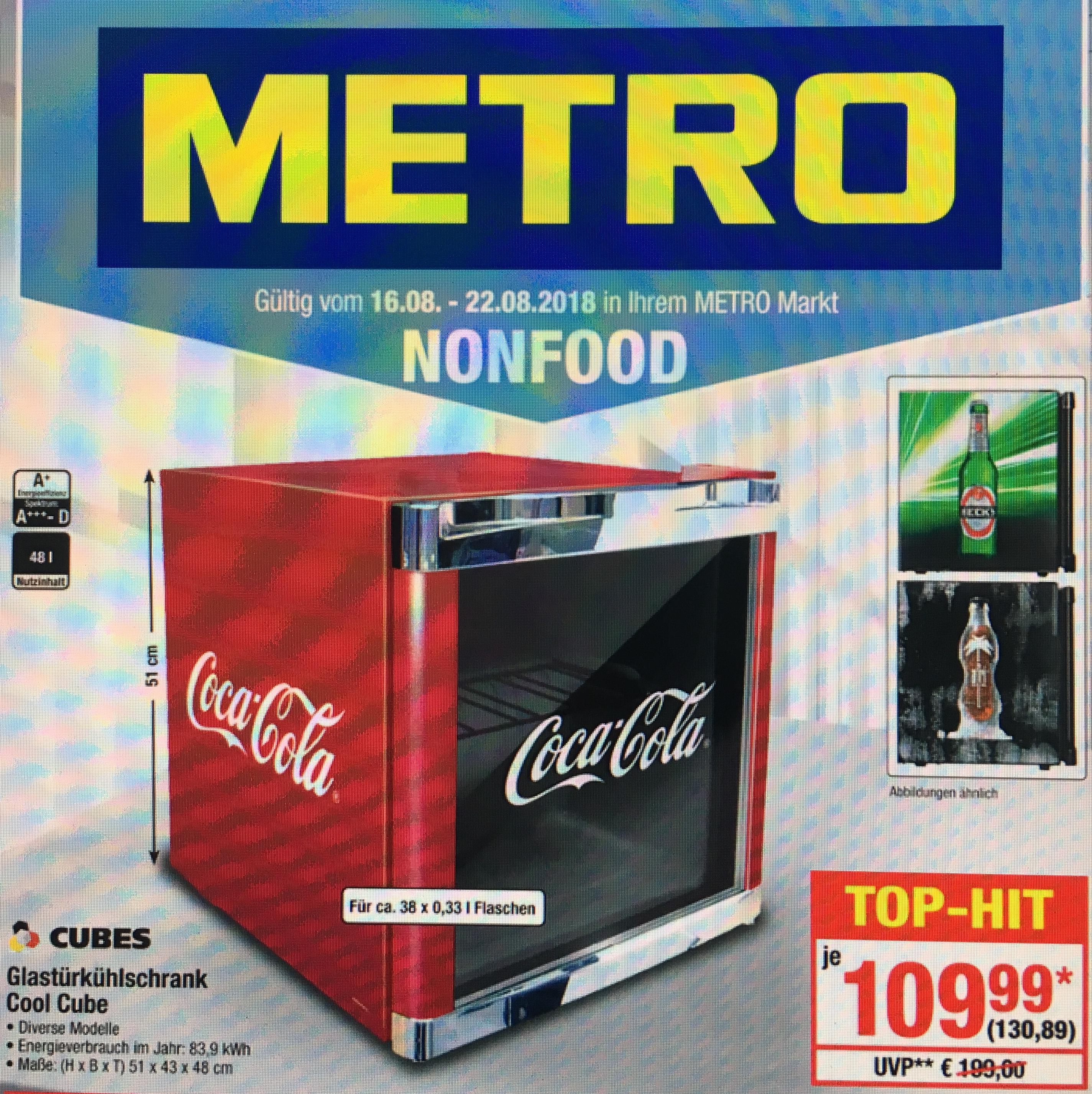 Husky Coca Cola, Becks oder Afri Cola Kühlschrank *Metro* *Gewerbe*