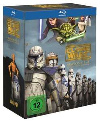 Star Wars: The Clone Wars - Komplettbox Staffel 1-5 (Blu-ray) für 51,12€ (Amazon)