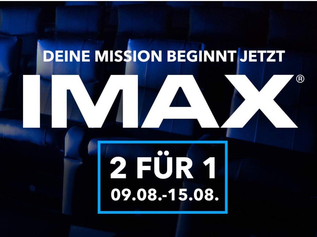 [UCI-Kinowelt Bochum + Wandsbek] 2für 1 - IMAX Mission