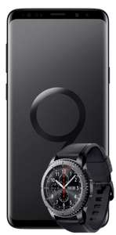 SAMSUNGGalaxy S9+ Dual-SIM& Samsung Gear S3 frontier inklusive Tarif