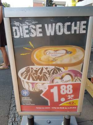 Langnese Cremissimo Eis für 1,88 Euro bei NP Discount in Hannover lokal
