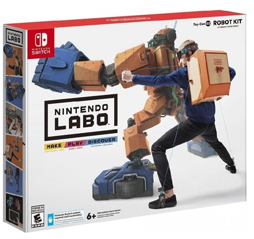 Nintendo Labo: Toy-Con 02 Robo-Set für Nintendo Switch [Spielwaren Schweiger]