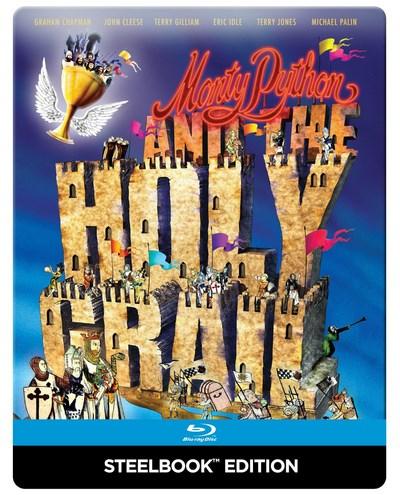Monty Python - Die Ritter der Kokosnuß (Blu-ray Steelbook) für 10,35€