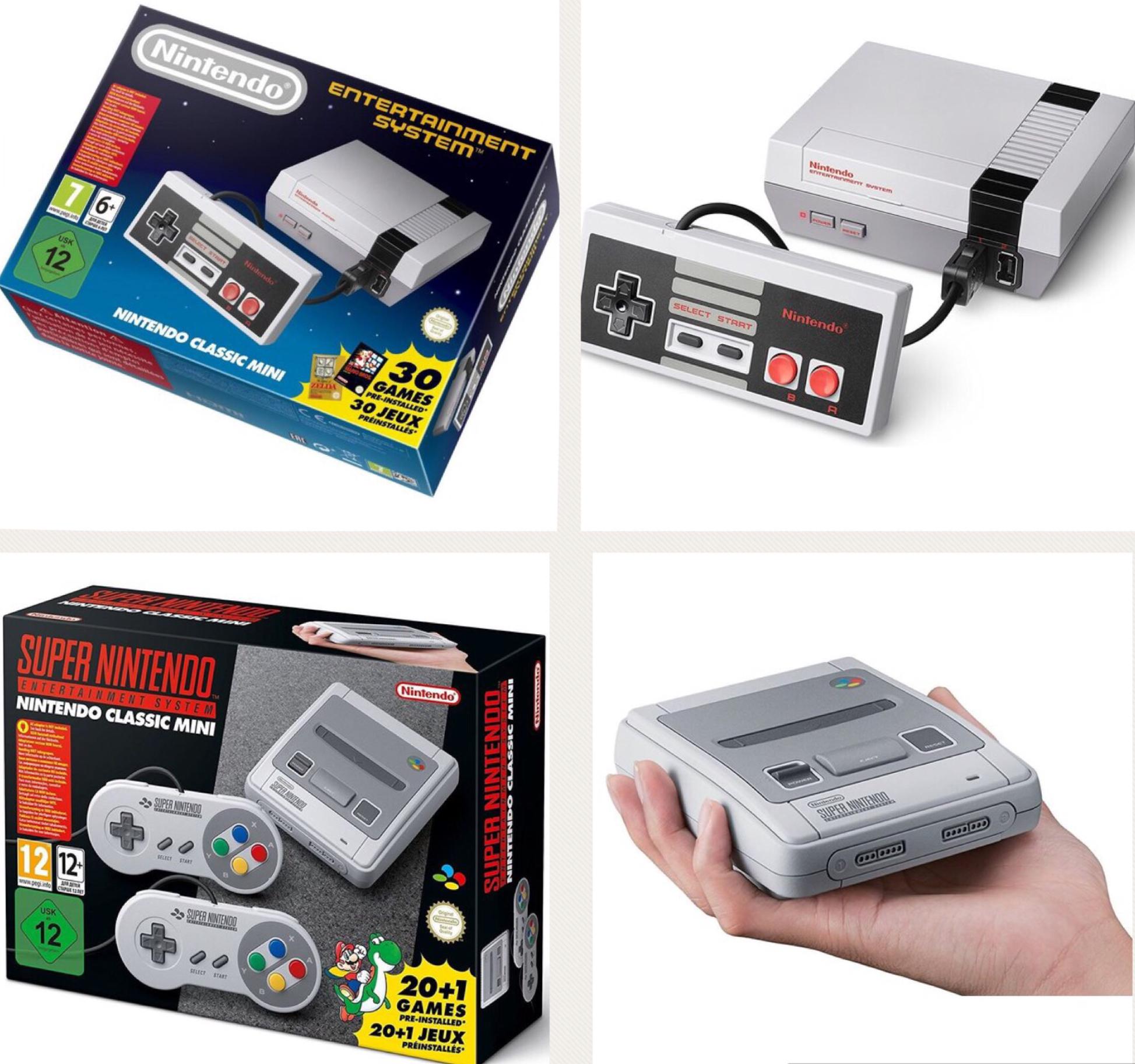 Nintendo Classic Mini NES für 47,90€ oder Nintendo Classic Mini SNES für 63,80€ mit Check24 Gutschein