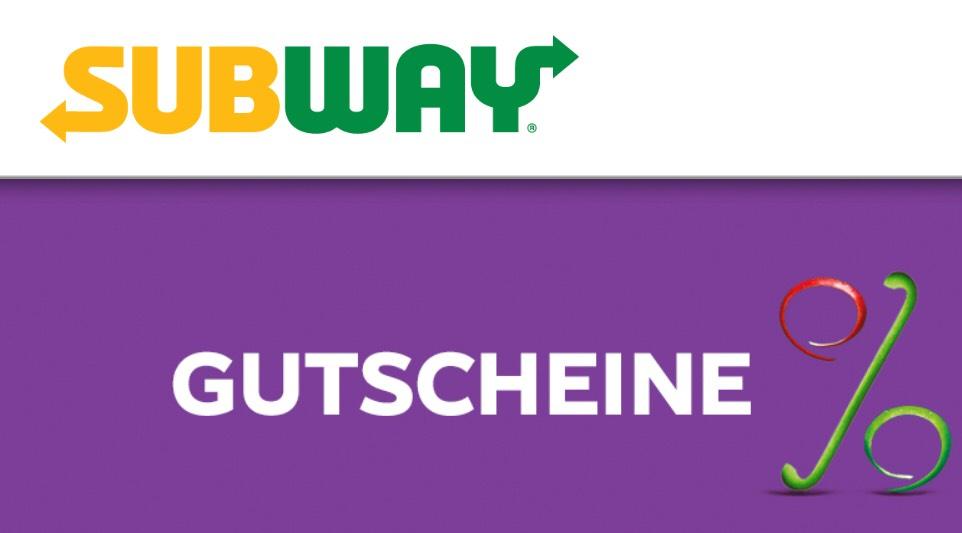 [Subway in Bayern] Gutscheine bis zum 17.09.18
