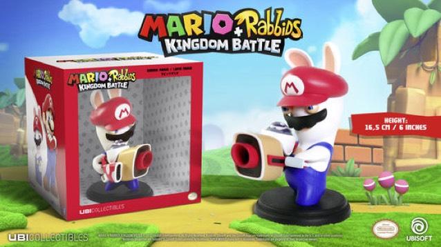 Mario + Rabbids: Kingdom Battle Mario Figur (16,5cm)
