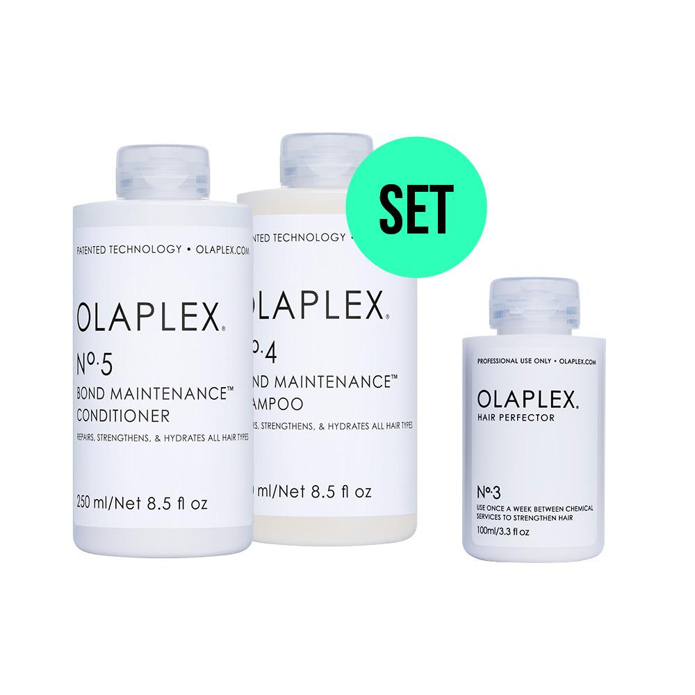 Olaplex Sparpaket - Olaplex No. 3, 4 und 5