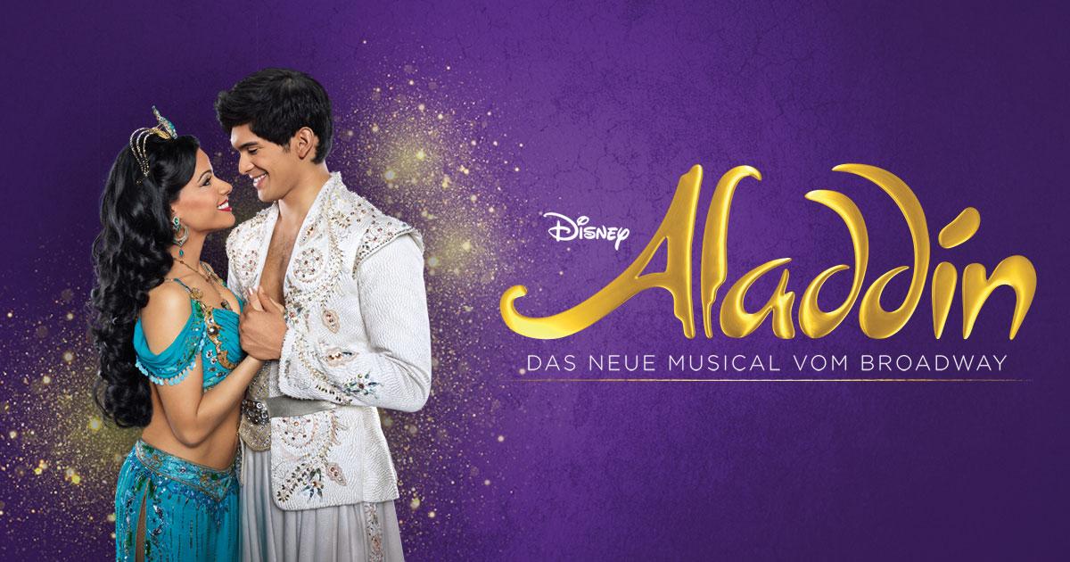 Aladdin Musical Hamburg Abschiedsangebot 2 Tickets ab 99€ (je nach Datum und PK)