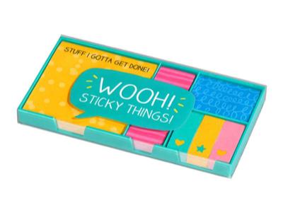 20% Rabatt auf die Marke Wild & Wolf + 5€-Newsletter-Gutschein bei pinkmilk, z.B. Haftnotizen-Set Sticky Things