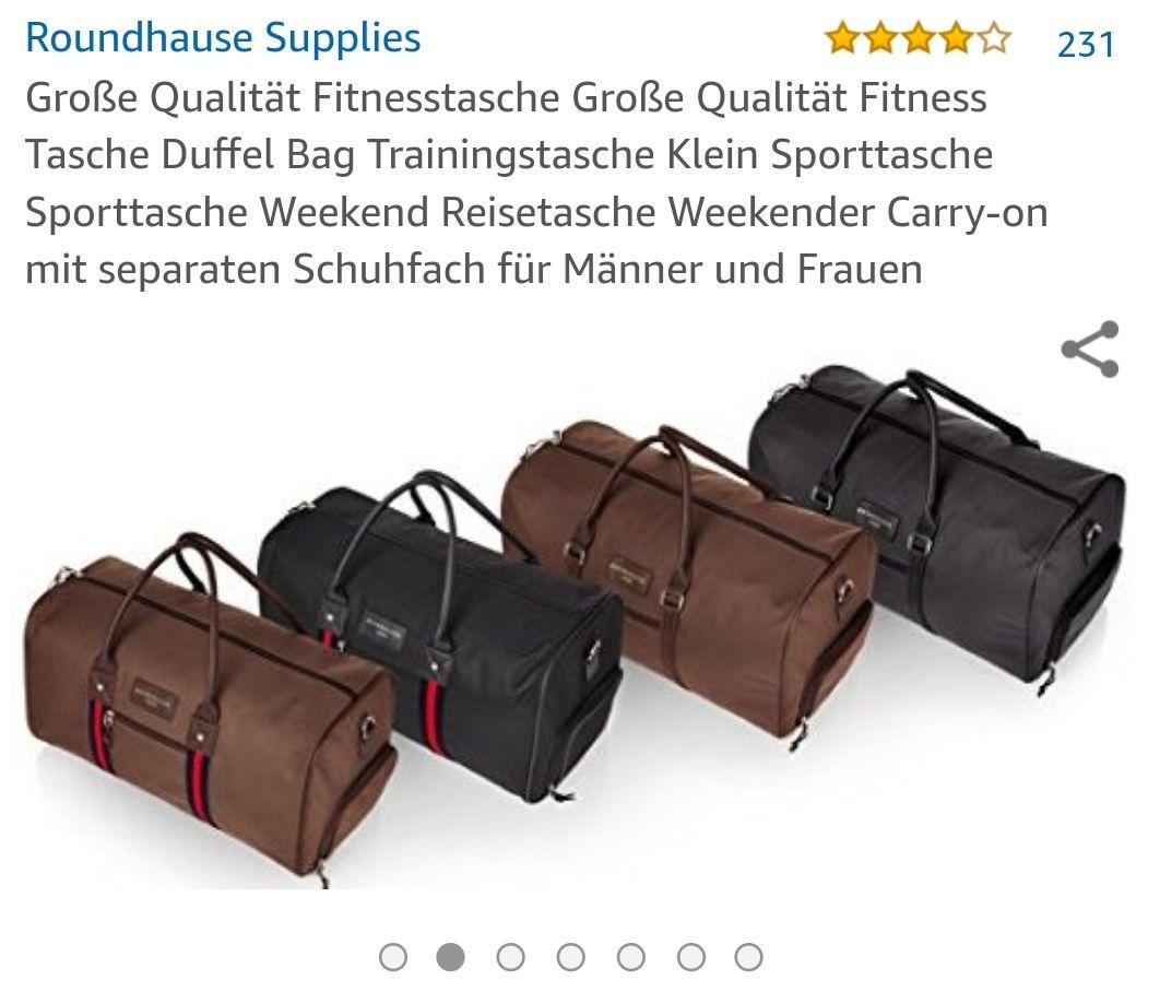 [Amazon] Große Roundhause Taschen in vers. Farben nur 3,99€!
