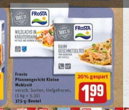 """REWE/Payback: Frosta """"kleine Mahlzeit"""" Gerichte für 1,99€ plus 10-fach Paybackpunkte bis 12.8."""