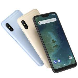 Xiaomi Mi A2 Lite (3GB/32GB) Smartphone 5.84 Zoll Android 8.1 (Android One) MIT Band 20