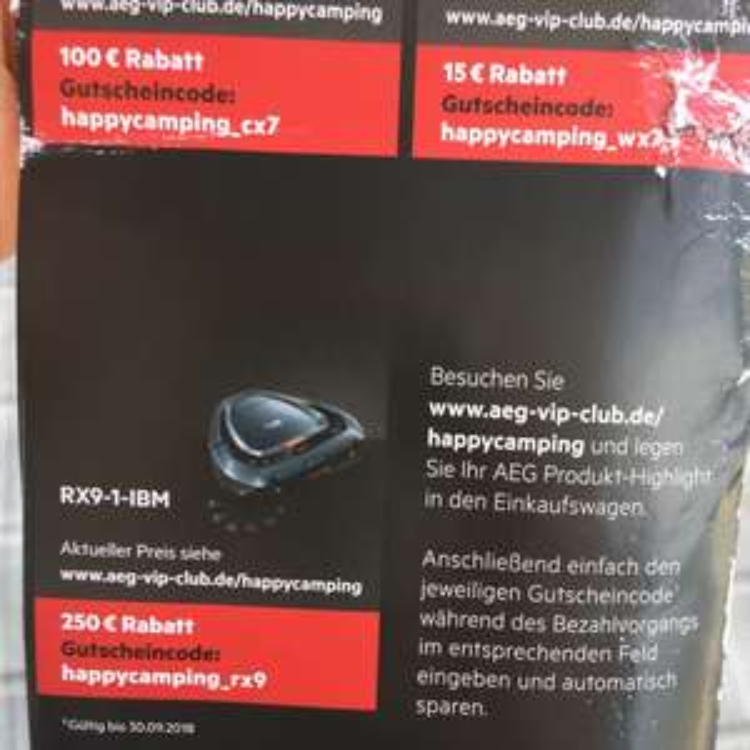 Saugroboter AEG RX9-1-IBM für 599€
