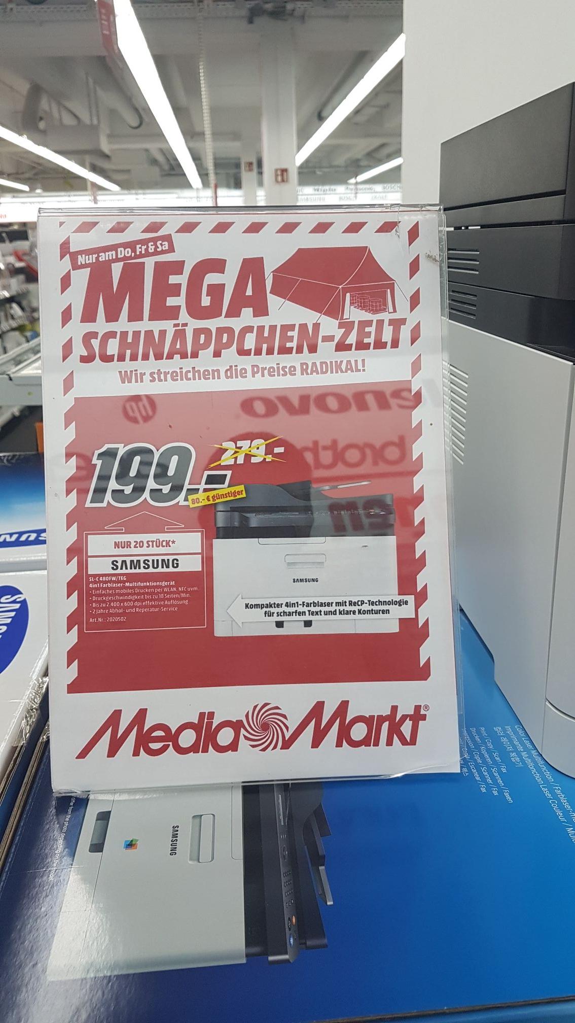 Samsung Xpress SL-C480FW - Farblaserdrucker mit Fax