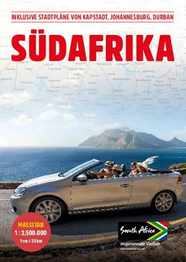 Landkarte & Reiseführer von Südafrika kostenlos frei Haus bestellen