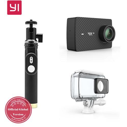 YI 4k+ Actioncam - Eine interessante Alternative zur Gopro6 - inklusive Original Zubehör