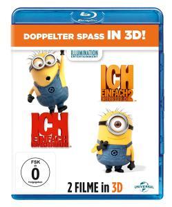 Ich - Einfach unverbesserlich 1 & 2 (3D Blu-ray + 2D) für 12,97€ (Amazon Prime)