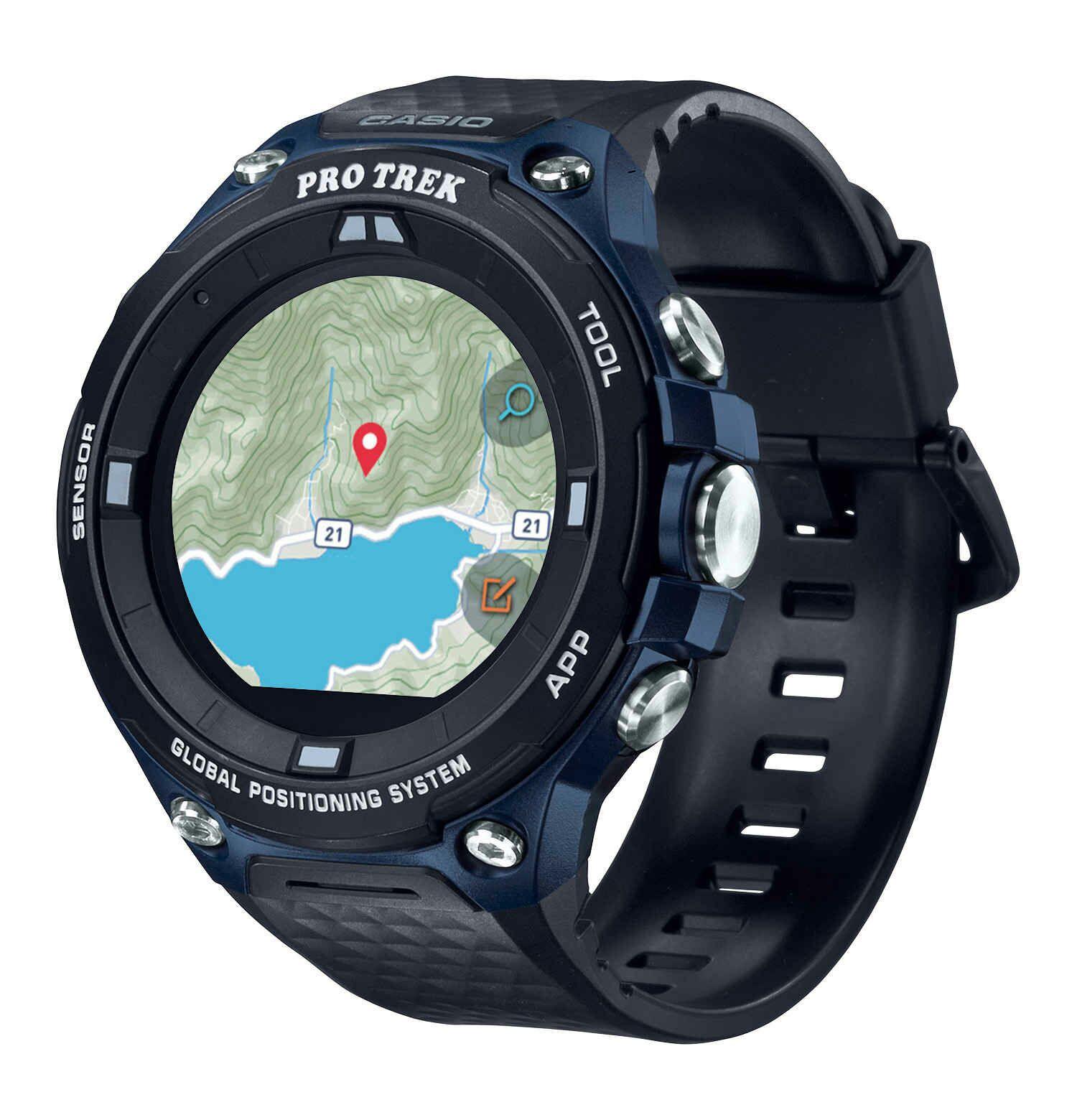 Casio Protrek Outdoor Smartwatch für Outdoor Sportarten