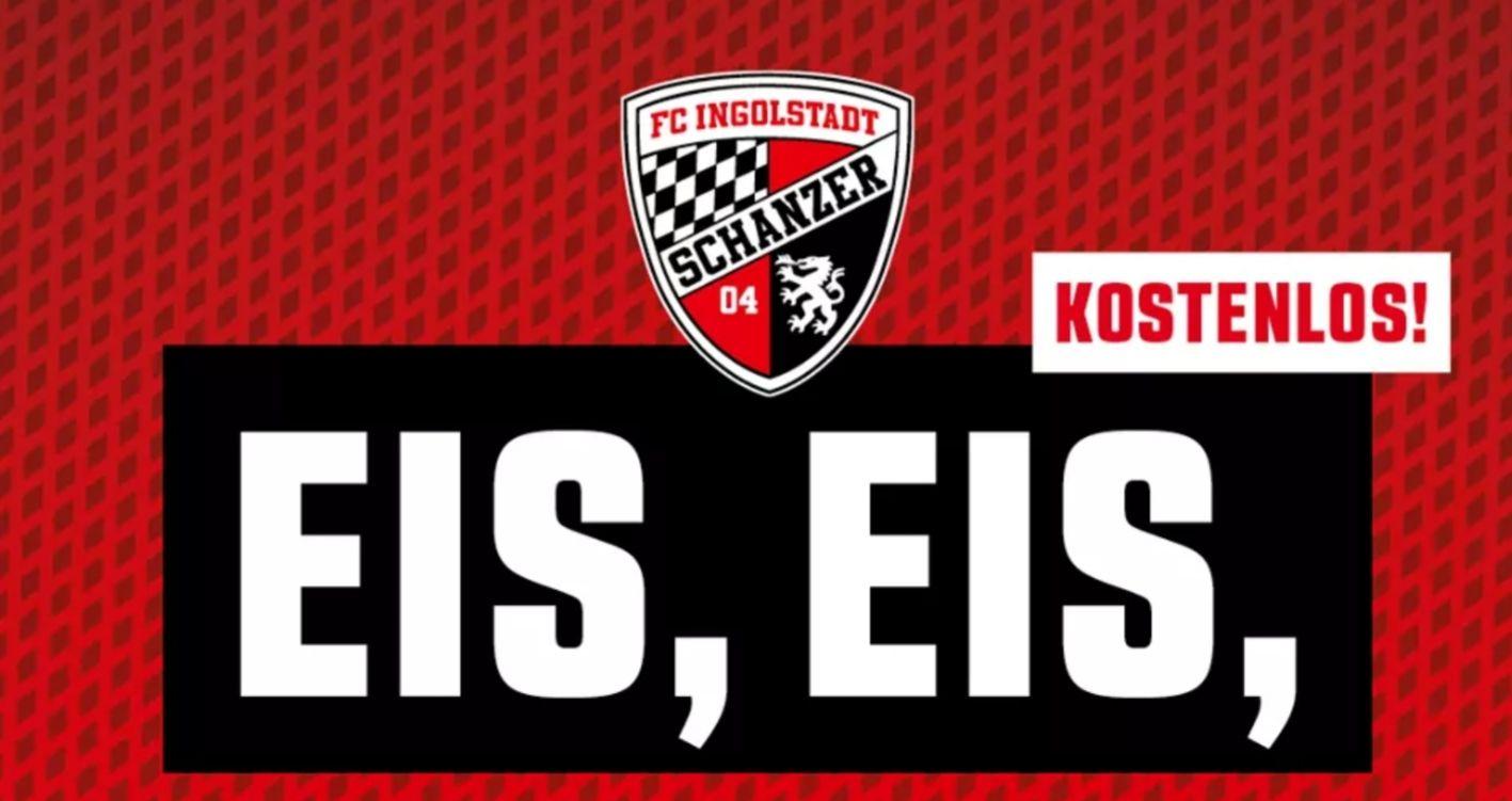 [Lokal Ingolstadt] (Update 28.8.)FC Ingolstadt Eis ab 8.8.2018 Gratis