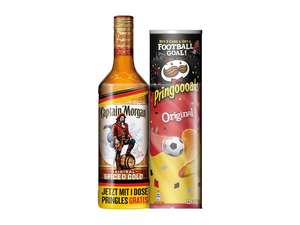 Captain Morgan Original Spiced Gold + Pringles gratis [LIDL]