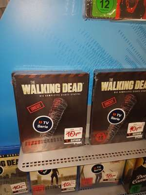 [LOKAL] SATURN Reutlingen - The Walking Dead - Staffel 7 Blu-ray Steelbook