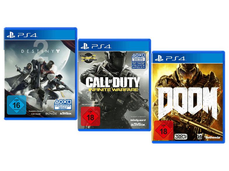 PS4 Games Bundle 3 Games für 24,99€ versandkostenfrei (Media Markt)
