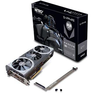 Sapphire RX Vega 56 Nitro+ 8GB HBM2 Mindfactory 482,92€ (473,93€ ohne Versandkosten)